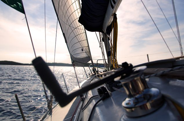 sailing at cowes